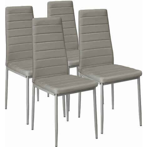 """main image of """"4 dining chairs synthetic leather - dining room chairs, kitchen chairs, dining table chairs"""""""