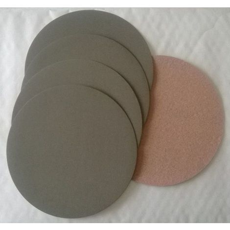 4 disques abrasif velcro pour poncer à l'eau grain 1000 format d150 APP HD