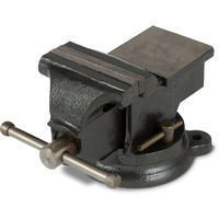 """4"""" Engineers Bench Vice with Anvil (100 mm Jaws, 360° Swivel Base, Cast Steel) Vize"""
