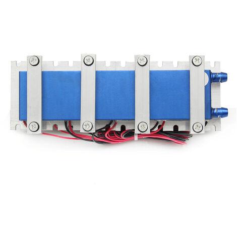 4 Fan Quad-core thermoélectriques à effet Peltier Air Réfrigération Radiateur Système de refroidissement
