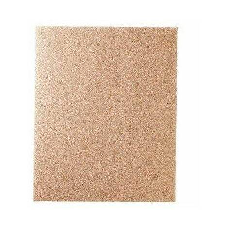 4 feuilles de papier silex - DE (grain 000) A (grain 5)