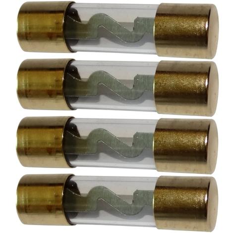 4 fusibles AGU 20A pour sono ampli sub subwoofer