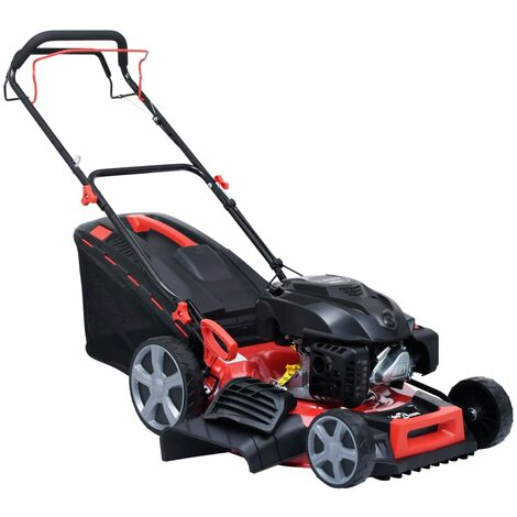 4-in-1 Petrol Lawn Mower Steel 51 cm 4.6 HP