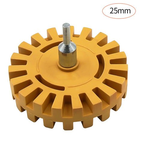 4 inch Pneumatic Rubber Remover Wheel 25mm