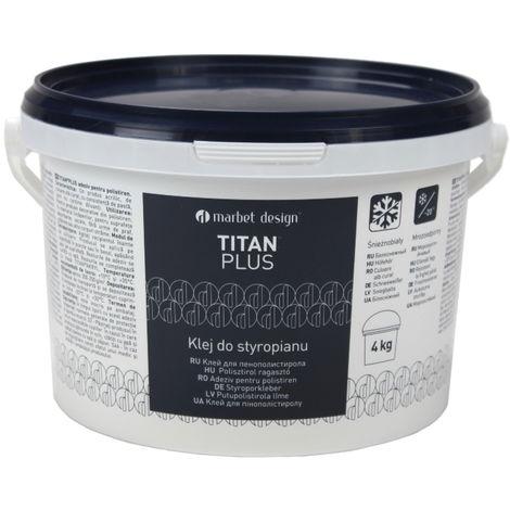 4 kg   Styroporkleber   Acrylkleber   weiß   frostfest   Titan Plus