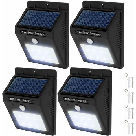 7x Solarleuchten Solarlampen Gartenleuchten Solar Solarleuchte Solarlampe SET