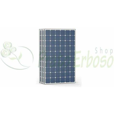 4 Pannelli fotovoltaici ad alta efficienza 50 Vdc