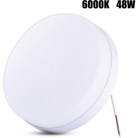 4 PCS Lámpara de Techo LED Forma Redonda Instalación Fácil Seguro Disipación de Calor 6000-6500K para Baño Dormitorio Cocina Sala de Estar Comedor Balcón Pasillo LLDUK-MA0105108X4