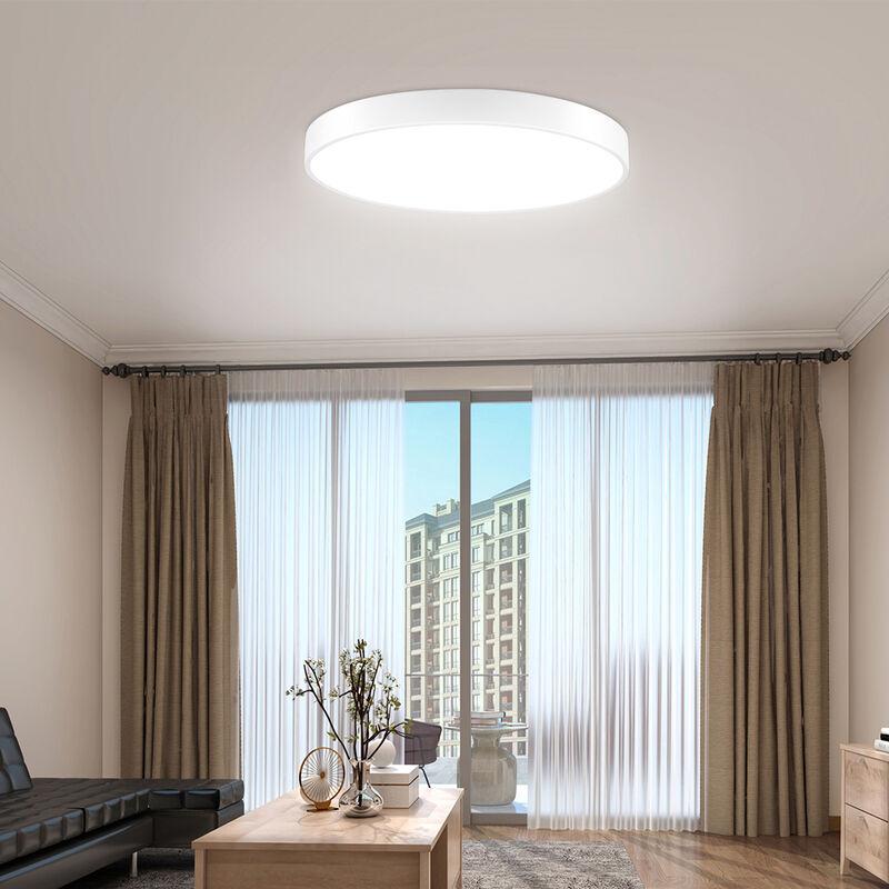 4 PCS LiVing Ultra Slim Runde LED Küche, Badezimmer Deckenleuchte LEDMC0004009X4 - TOPDEAL