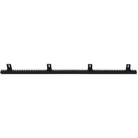 """main image of """"4 pcs Nylon Rack for Sliding Gate Opener - Black"""""""