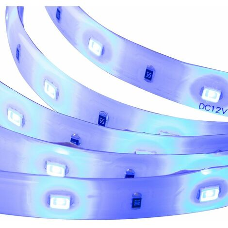 4 Piece Ip54 Rated 4W LED Linkable Under Kitchen Cupboard / Cabinet / Shelf Strip Light Blue