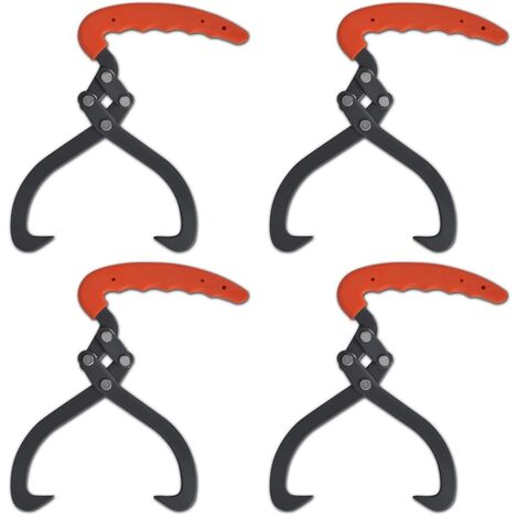 4 pièces Crochet de levage Pince à bois
