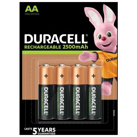 """main image of """"Piles rechargeables Ultra AA 2400 mAh - x4 - Duracell"""""""