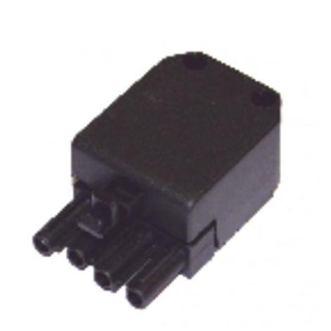4 poles male plug