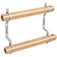 4-Ports Brass Heating Distributor Building Circuit Manifold System