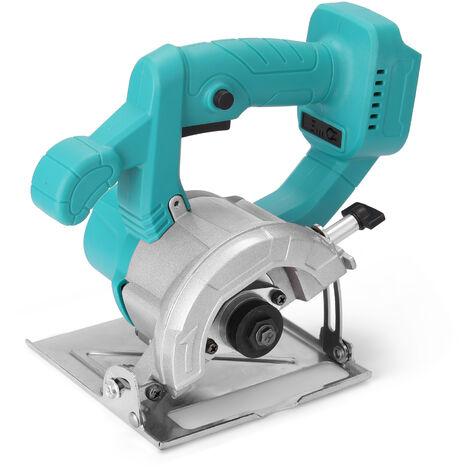 4 pulgadas 21V Circular sierra electrica 0-34mm Profundidad de corte ajustable Herramienta de la carpinteria de madera Junta de marmol corte de la maquina sin bateria