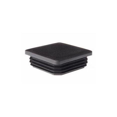 4 pz gommino interno in plastica quadro 25x25 25 mm puntale alettato tappo
