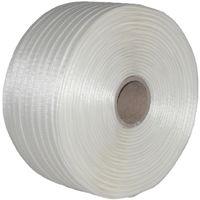 4 Rollen Umreifungsband Textil gewebt 16 mm 850 m 450 KG Band Textilband Kern 76