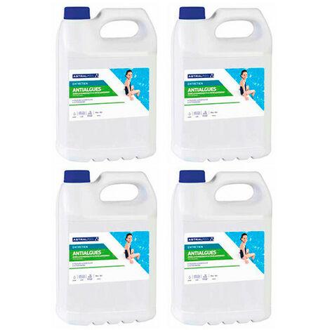 4 seaux de anti-algues - 5 L AstralPool - -