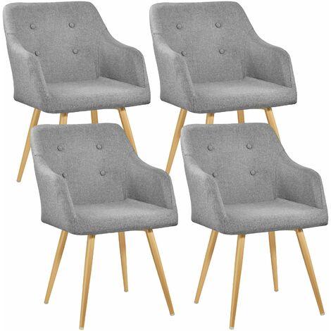 4 Sedia Tanja - sedie moderne, sedie economiche - grigio ...