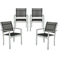 4 sillas de jardín
