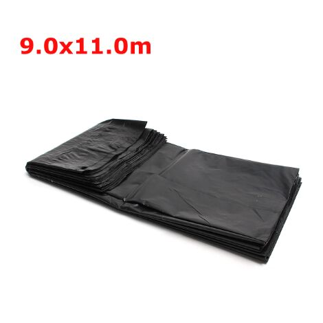 4 size black fish pond liner fabric home garden pool reinforced HDPE heavy landscaping swimming pool pond waterproof liner fabric new