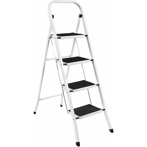 4 Step Ladder With Anti-Slip Mat