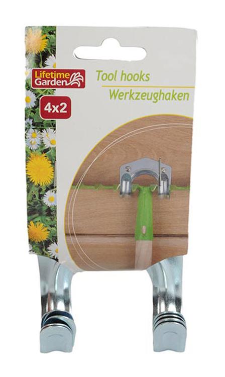 Gartengerätehalter Gerätehalter Haken Werkzeughalter Wandhaken für Werkzeug