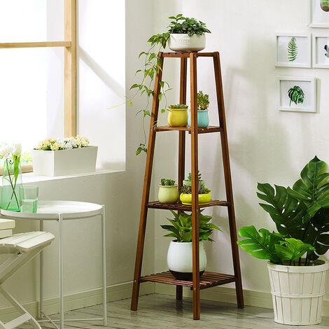 4 Tier Flower Shelf Planter Plant Holder Storage