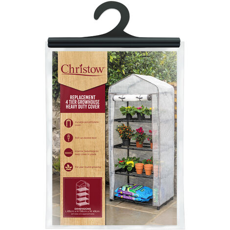 4 Tier Greenhouse Cover - PE