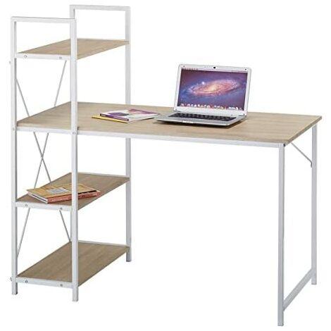 4-Tier Shelving & Office Desk / Workstation