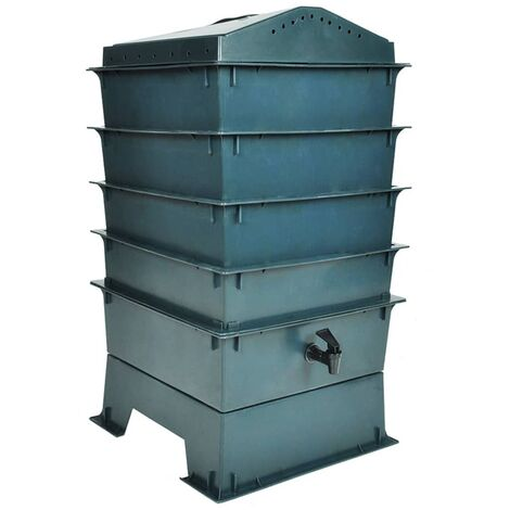 4-Tray Worm Factory 42x42x60 cm