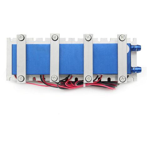 4 Ventiladores termoeléctricos de cuatro núcleos efecto Peltier Refrigeración por aire Radiador Sistema de enfriamiento Sasicare