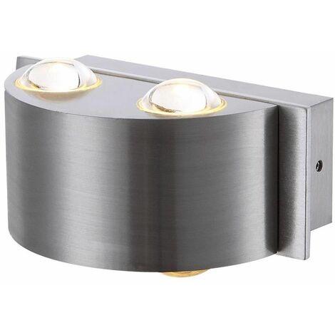 4 Watt iluminación de la pared externa de aluminio LED de vidrio transparente Balcón Terraza Globo 34177-4 Line
