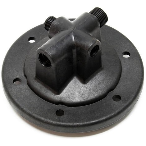 4-Way Flange for Pressure Vessels as Spare Part for Domestic Waterworks
