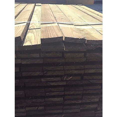 "4"" x 1"" (100mm x 22mm) Pressure Treated Timber Boards 2.4m Pack of 3"