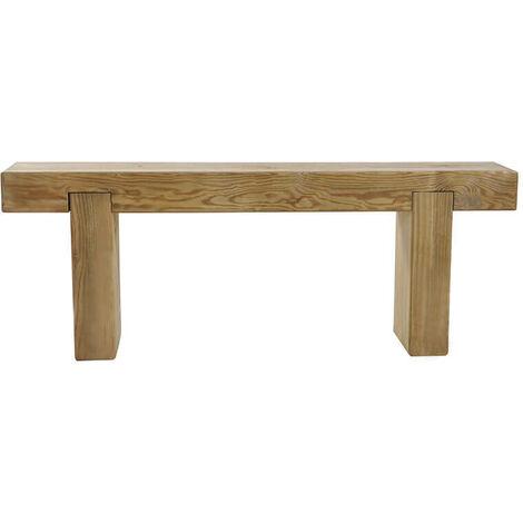 4' x 1' (1.2x0.2m) Forest Sleeper Bench