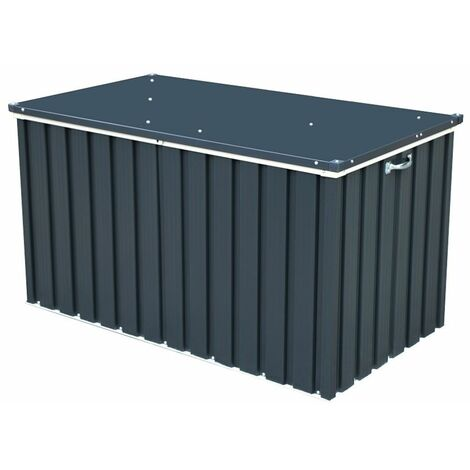 4 x 2 Value Metal Storage Box - Anthracite Grey (1.34m x 0.73m)