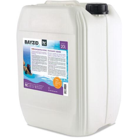 4 x 20 Litre Bayzid® Floculant liquide