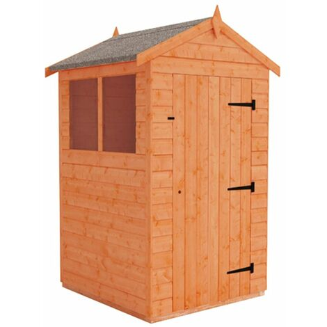 4 x 4 Tongue and Groove Shed (12mm Tongue and Groove Floor and Apex Roof)