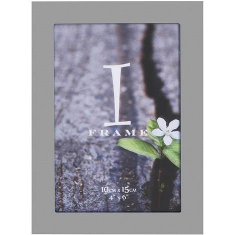 4' x 6' - iFrame Aluminium Grey Photo Frame