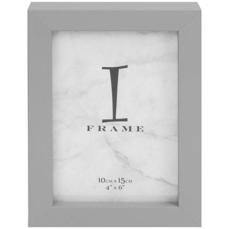 4' x 6' - iFrame Matt Grey Photo Frame
