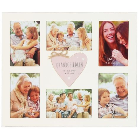 4' x 6' - Love Life Grandchildren Collage Frame