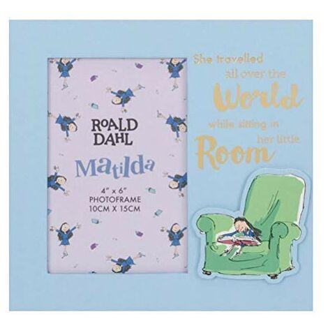 "main image of ""4"" x 6"" - Roald Dahl Matilda Photo Frame"""
