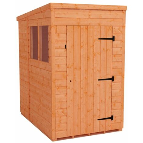 4 x 6 Tongue and Groove Pent Shed (12mm Tongue and Groove Floor and Roof)