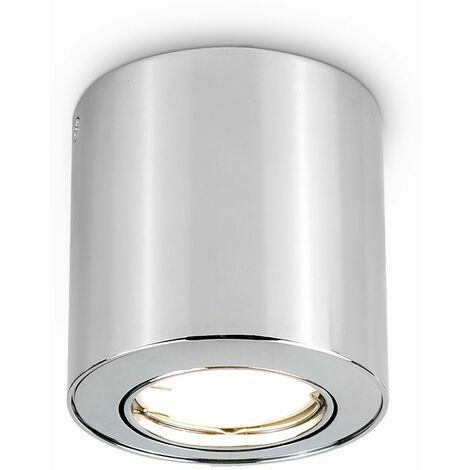 4 x GU10 Tiltable Surface Mounted Ceiling Downlights