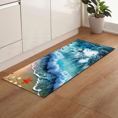 40 * 120cm plage tapis de sol pour salle de bain cuisine canapé armoire