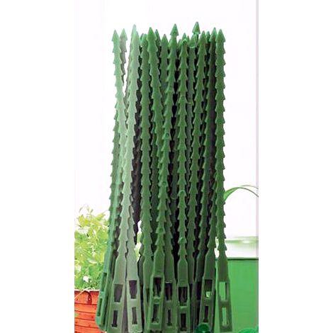 40 Abrazaderas, Bridas Jardinería, Alta Calidad. Reutilizable