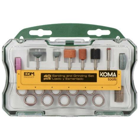 40 accessoires KOMA pour outil multifonctions 08709 - 08736