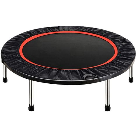 40 '' Fitness Rebounder Folding Trampoline Enclosure Elastic Safety Spring Pad